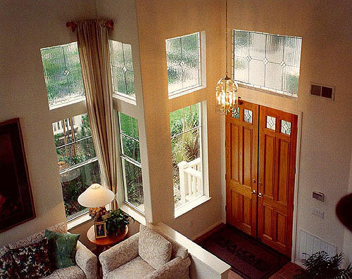 Privacy windows can be used anywhere needed by simply choosing from our more opaque glass type